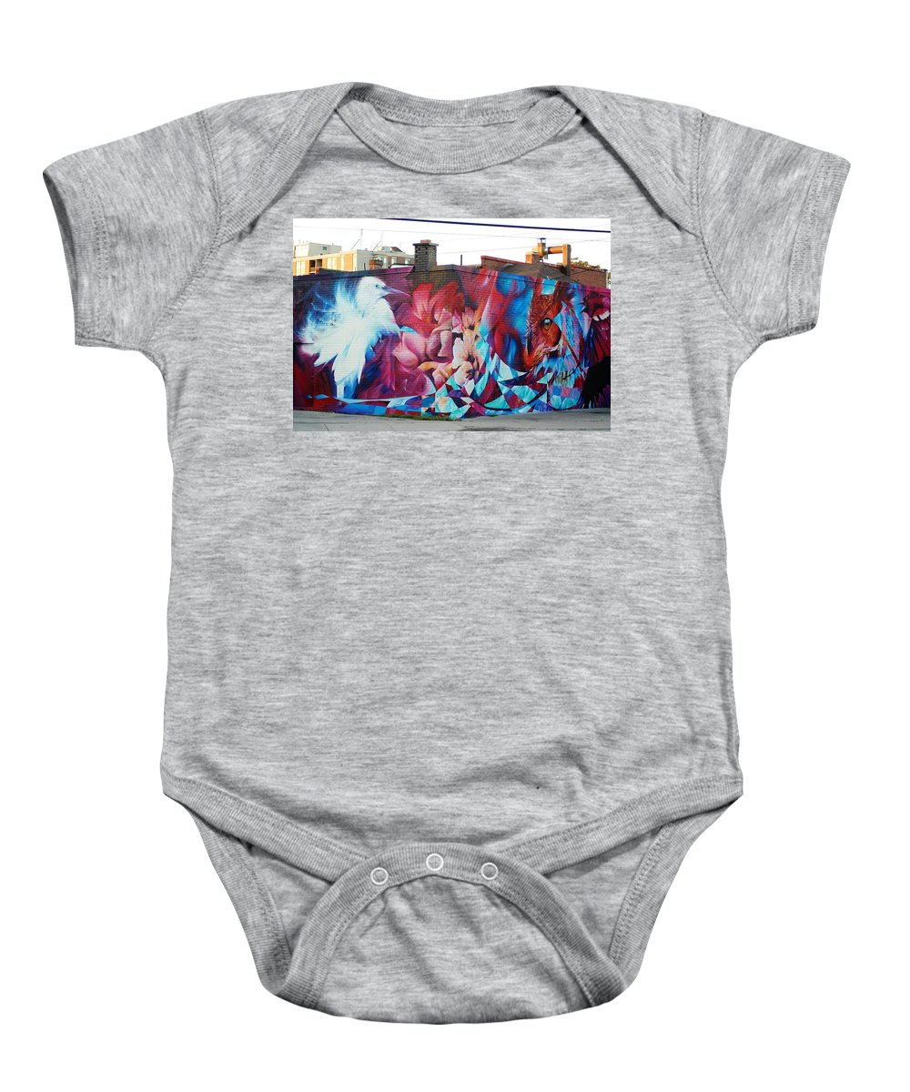 Entertainment Baby Onesie featuring the photograph Creative Splash Of Artwork by Ee Photography