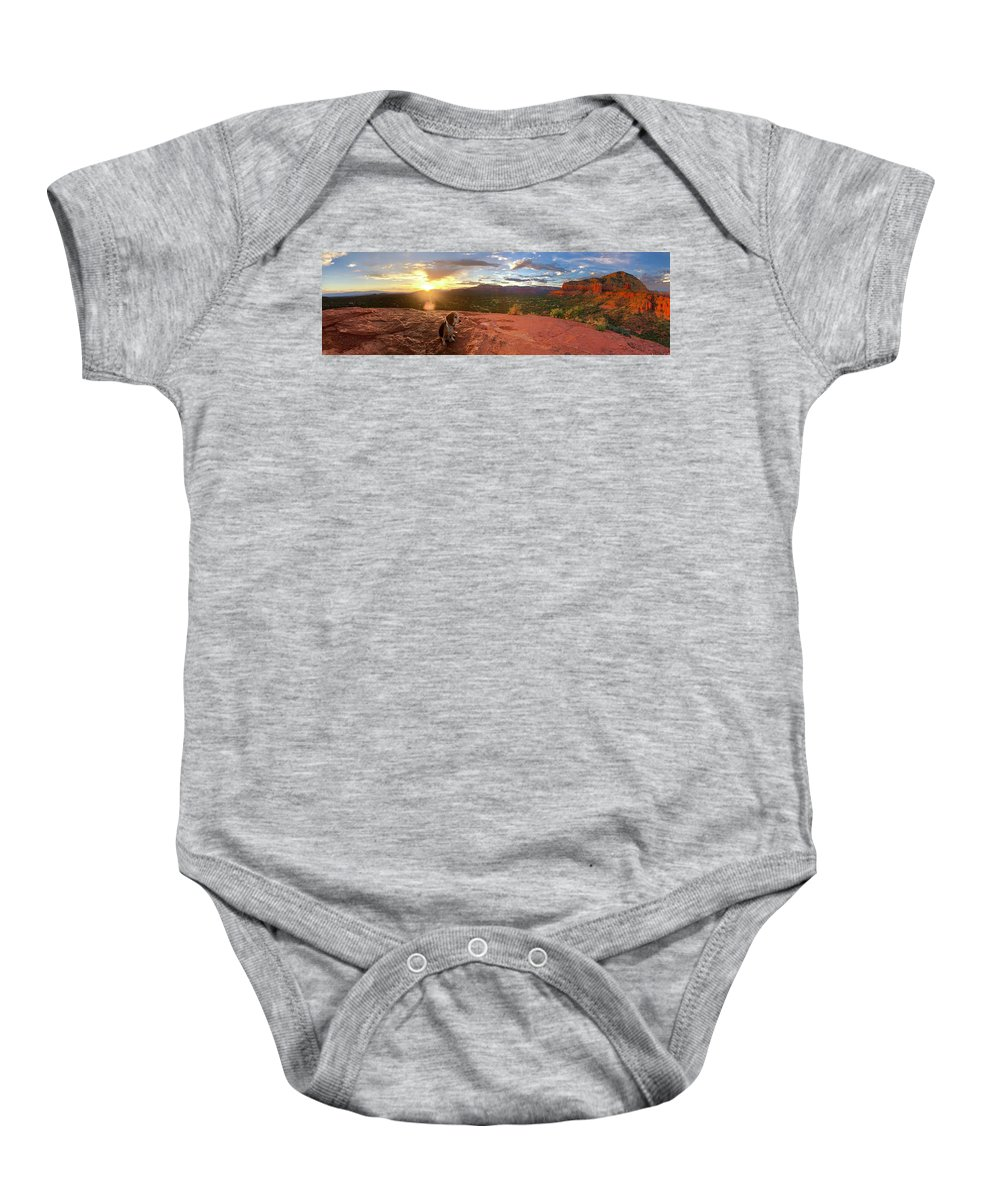 Baby Onesie featuring the photograph Penny by Alexis Kaczmarcyk