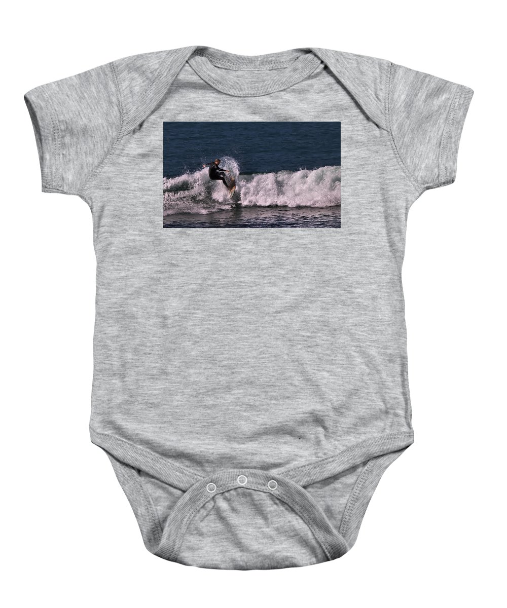 Ventura Baby Onesie featuring the photograph Right Turn by Michael Gordon