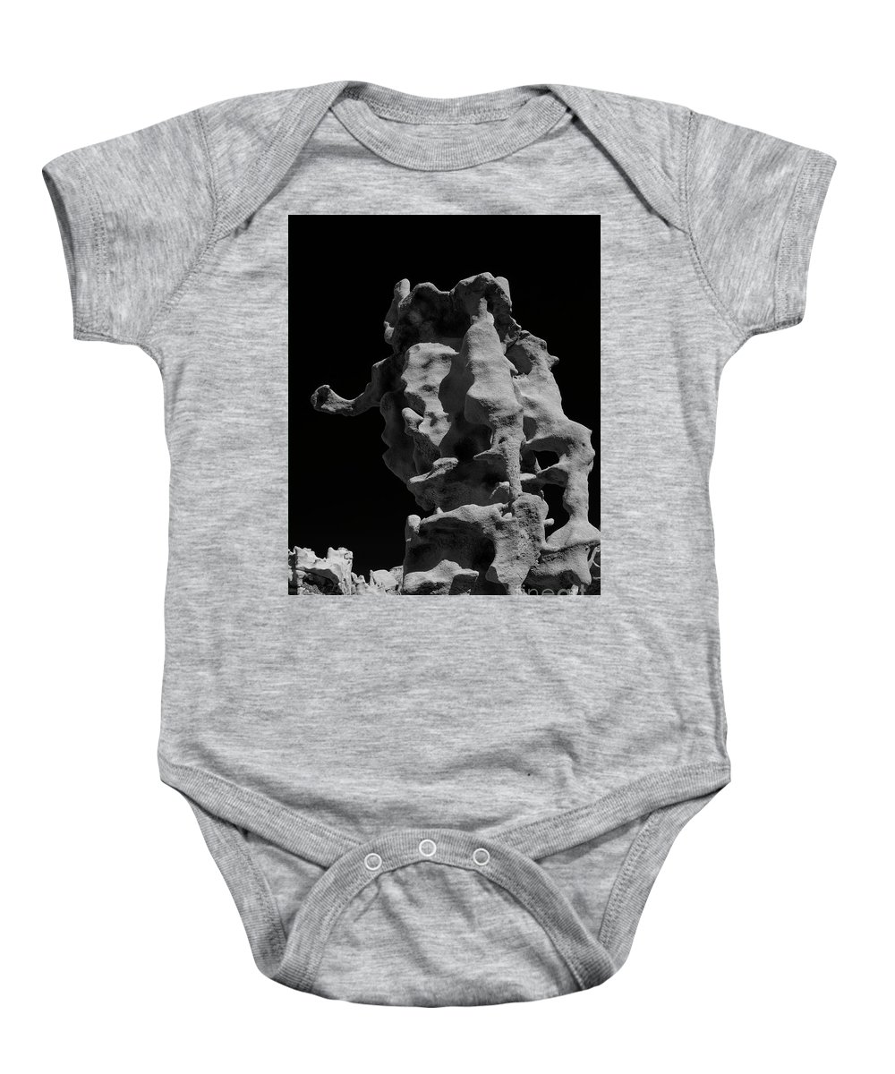 Fantasy Canyon Baby Onesie featuring the photograph Siltstone Curl by Mike Dawson