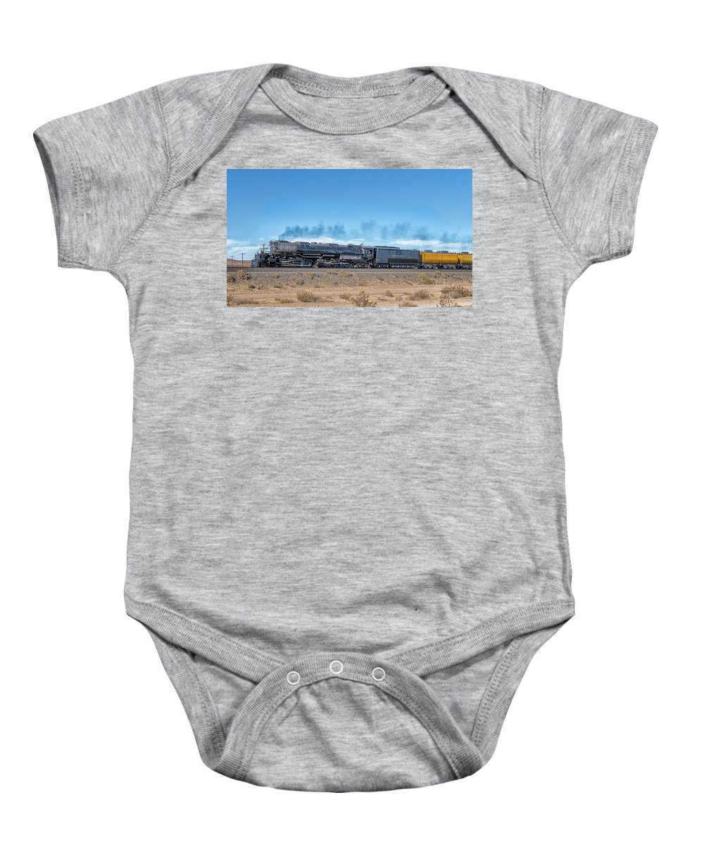 Big Boy Baby Onesie featuring the photograph Up4014big Boy 5 by Jim Thompson