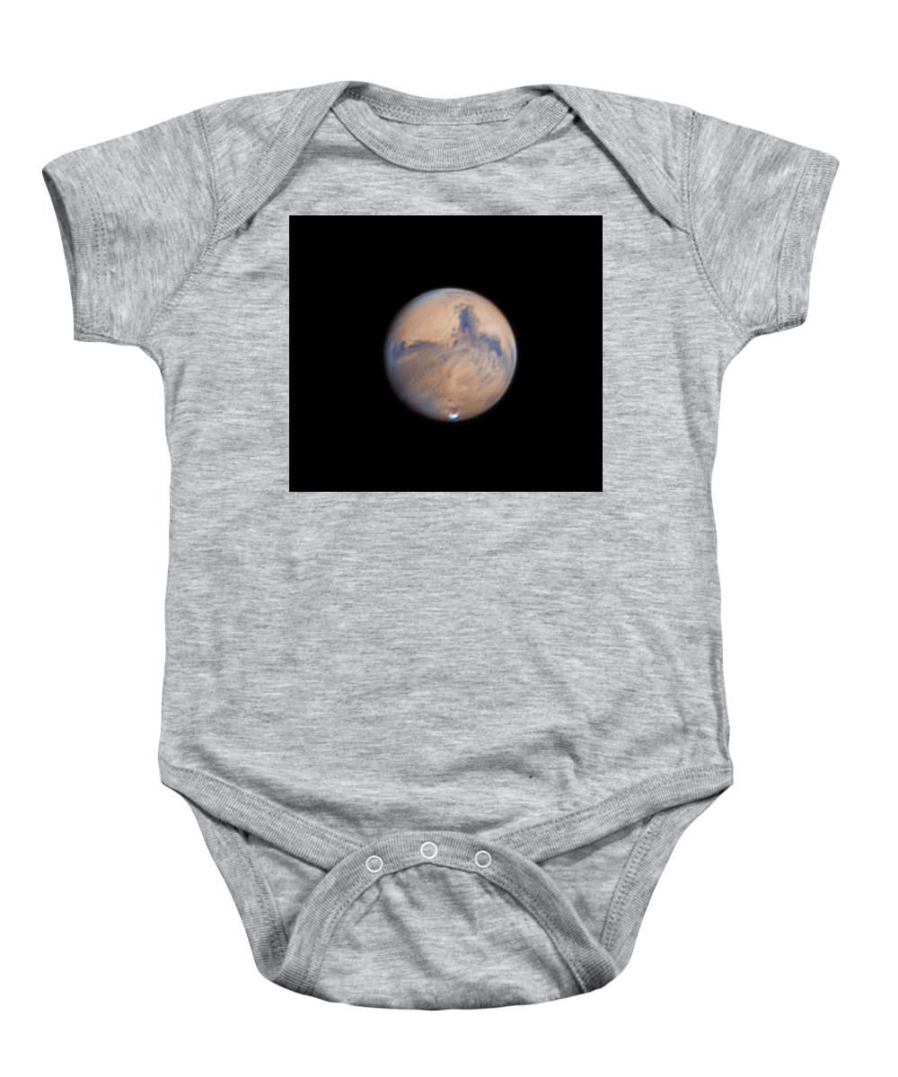 Mars Baby Onesie featuring the photograph Mars from 31st October 2020 by Prabhu Astrophotography