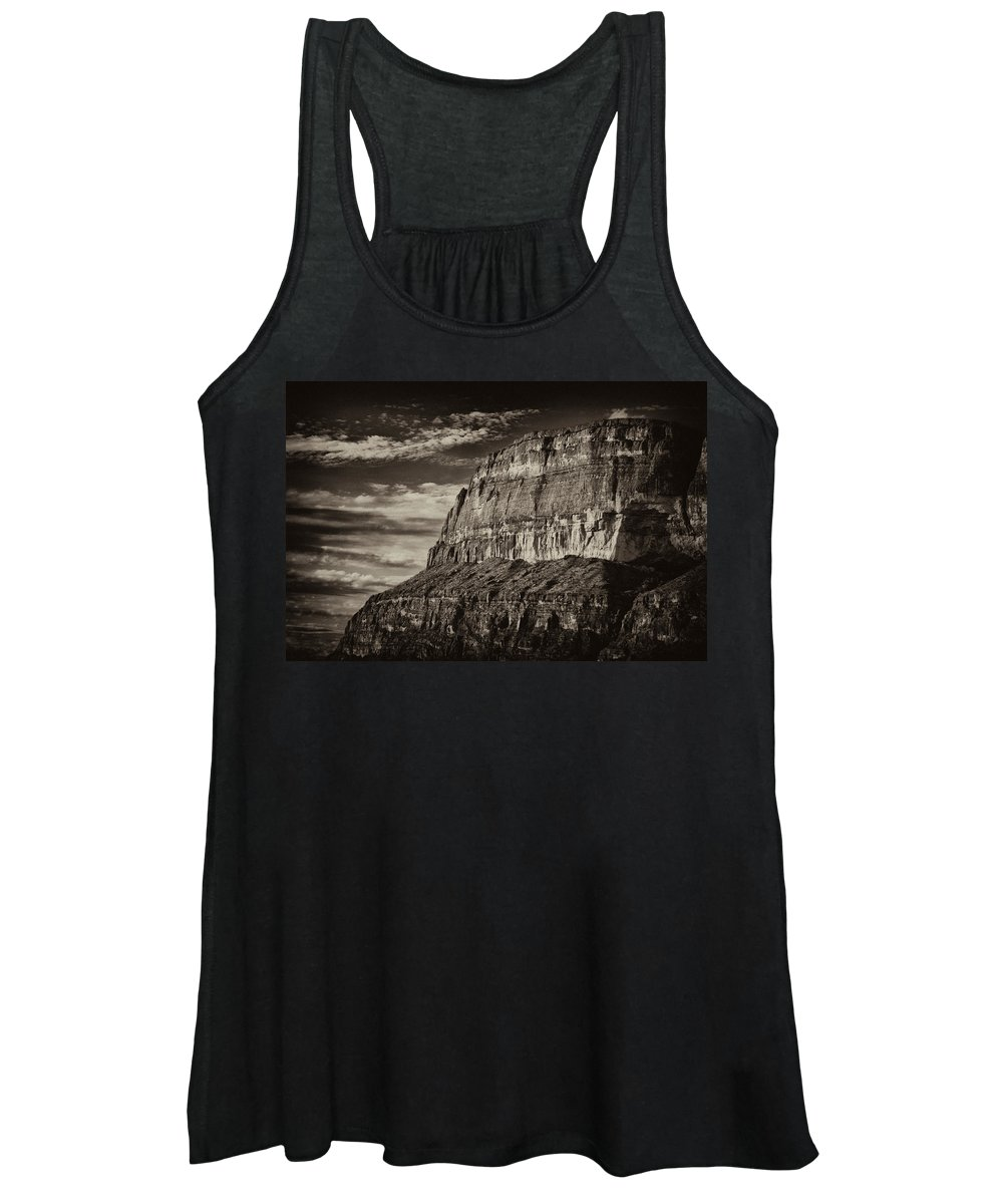 Big Bend National Park Women's Tank Top featuring the photograph Big Bend Cliffs by Renee Cline