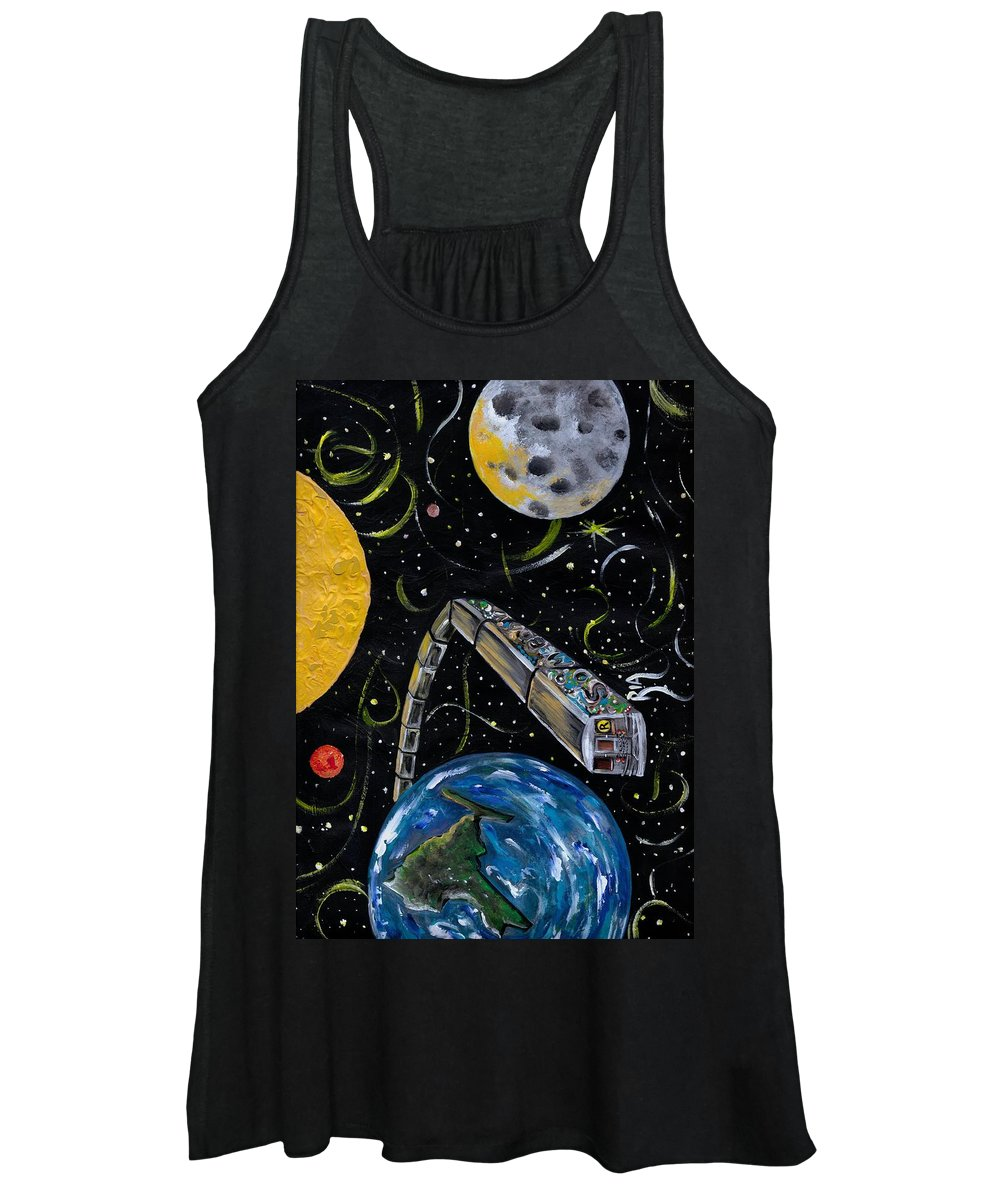 Beautiful Women's Tank Top featuring the photograph Ny State Of Mind by Artist RiA