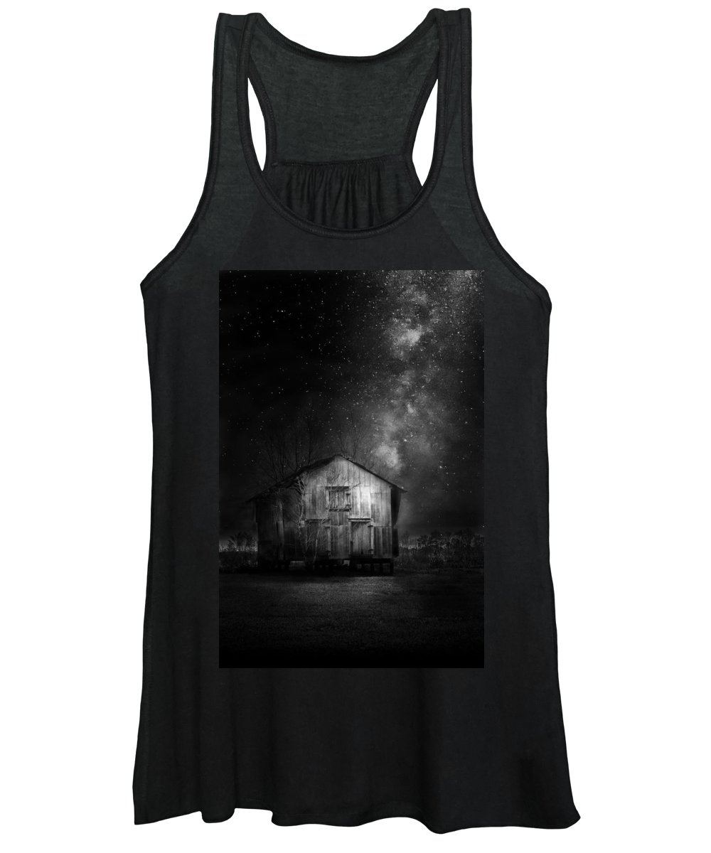 Farmland Women's Tank Top featuring the photograph Starry Night by Marvin Spates
