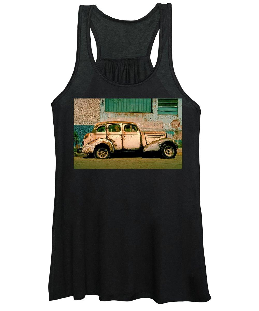 Car Wreck Women's Tank Tops