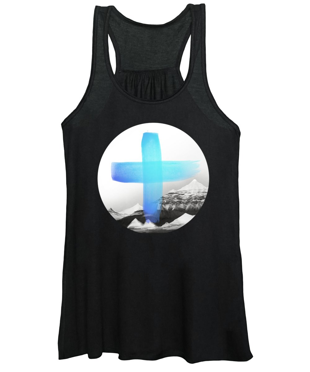 Mountains Women's Tank Top featuring the painting Mountains by Amy Hamilton