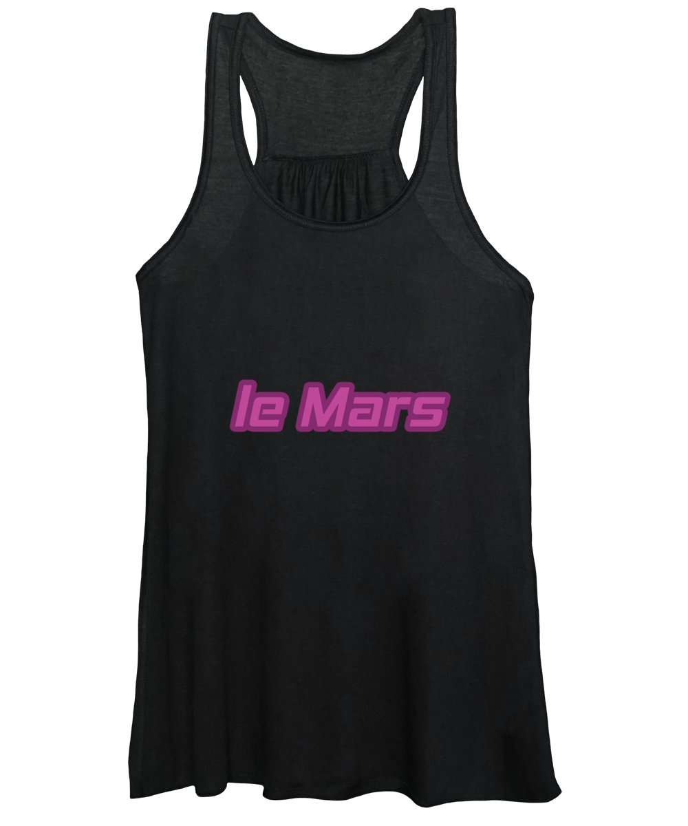 Le Mars Women's Tank Top featuring the digital art Le Mars #le Mars by TintoDesigns