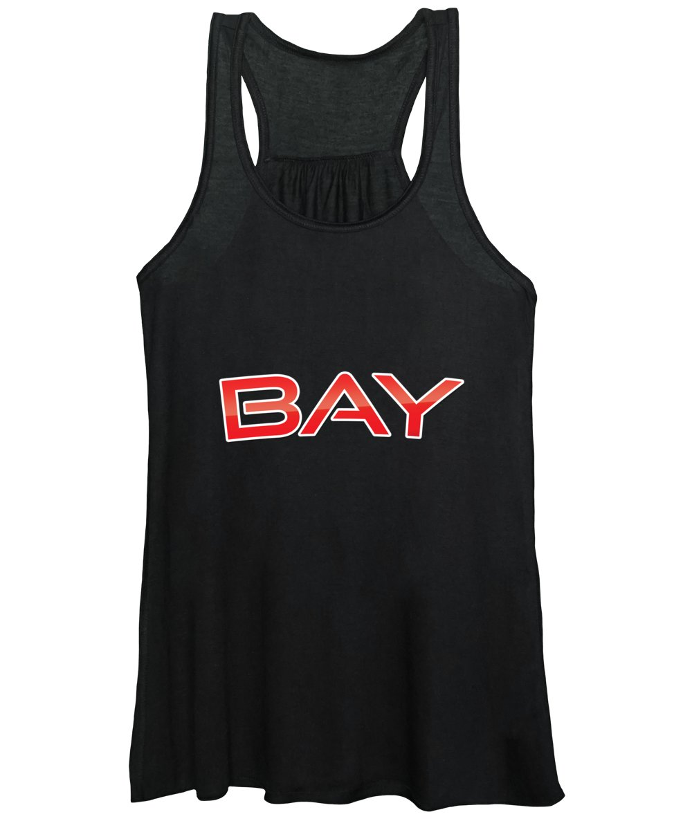 Bay Women's Tank Top featuring the digital art Bay by TintoDesigns