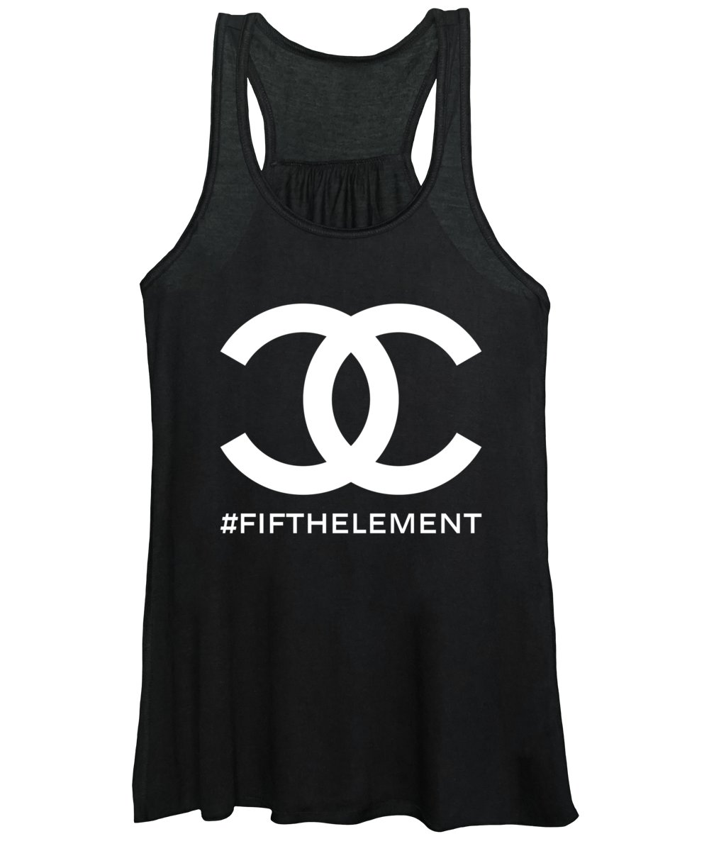 Chanel Women's Tank Top featuring the painting Chanel Fifth Element-2 by Nikita