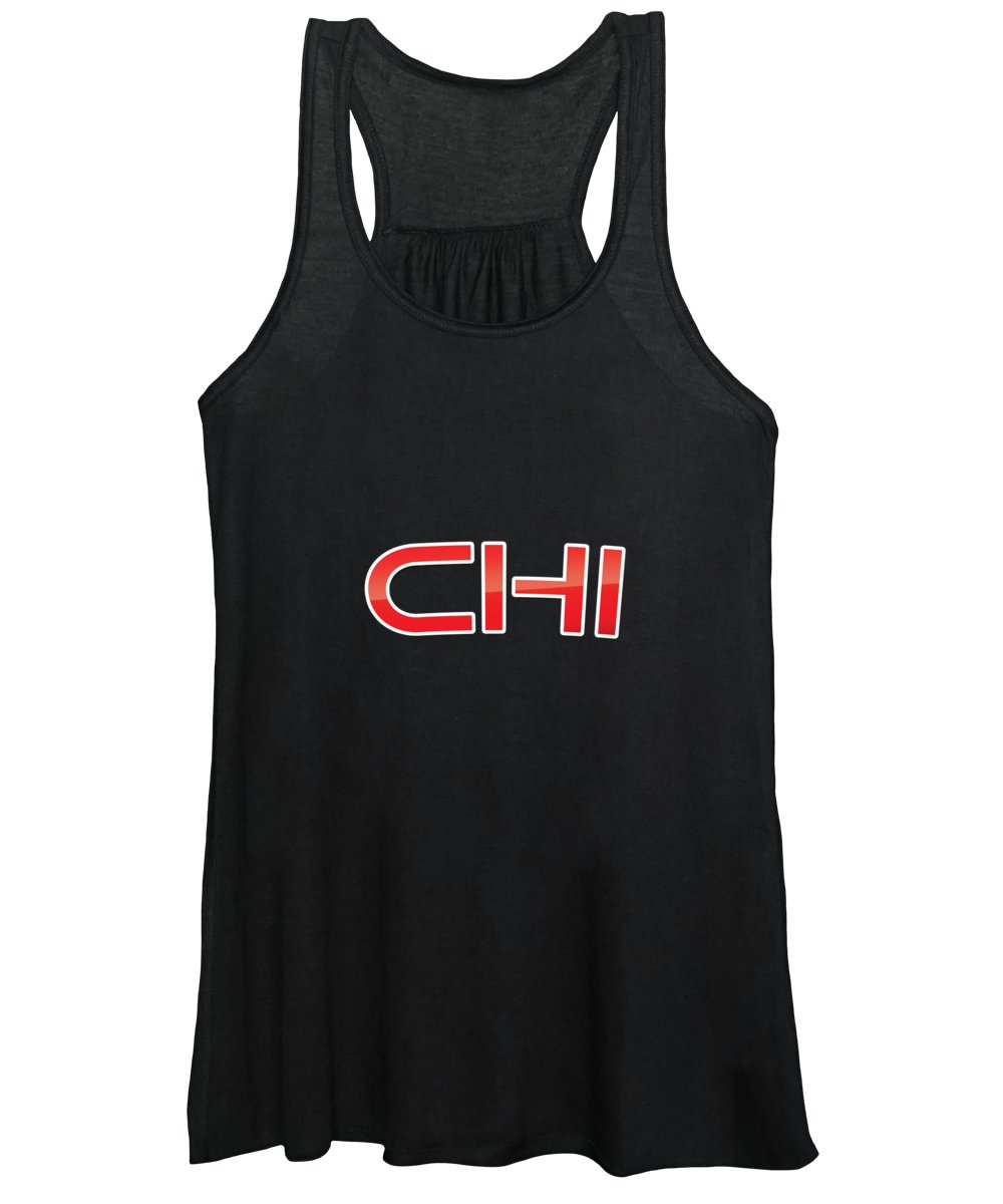 Chi Women's Tank Top featuring the digital art Chi by TintoDesigns