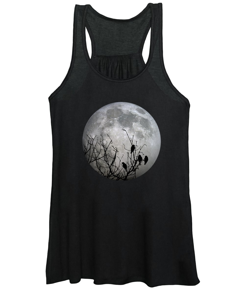 Full Women's Tank Top featuring the photograph Midnight Moonshiners by Betsy Knapp