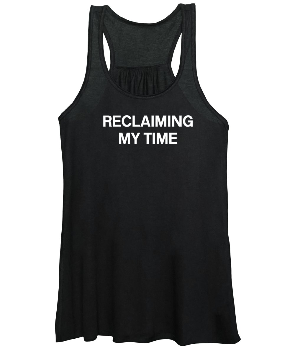 Reclaiming My Time Women's Tank Top featuring the digital art Reclaiming My Time- Art by Linda Woods by Linda Woods