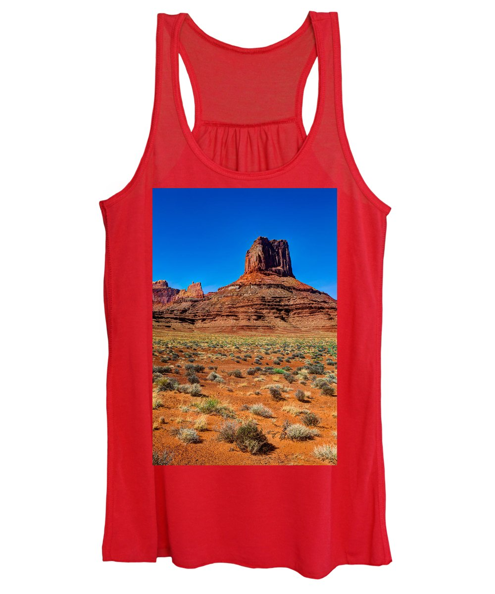 Airport Women's Tank Top featuring the photograph Airport Tower II by Chad Dutson