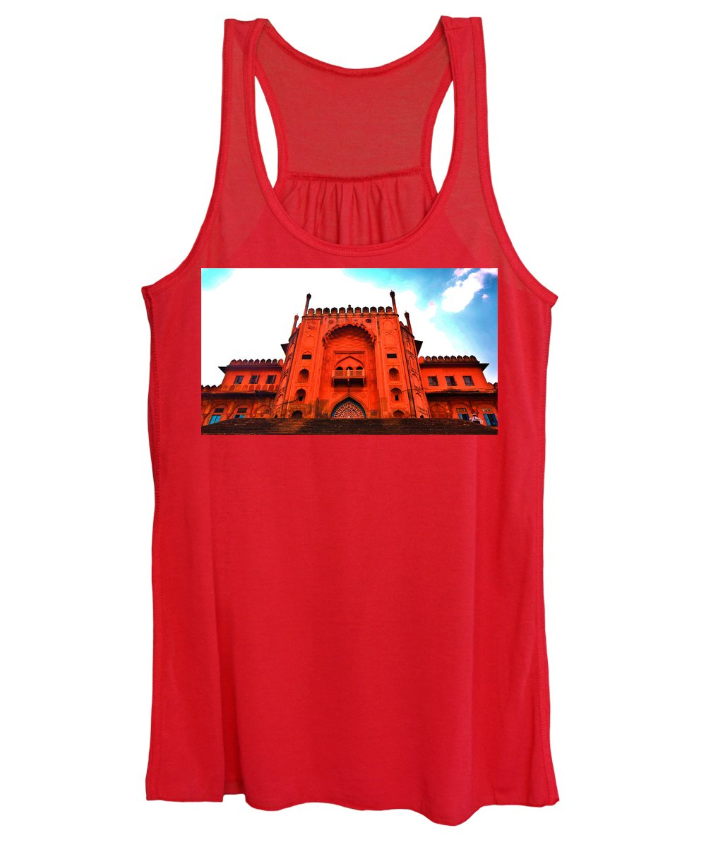 Architecture Women's Tank Top featuring the photograph #Entrance Gate by Aakash Pandit