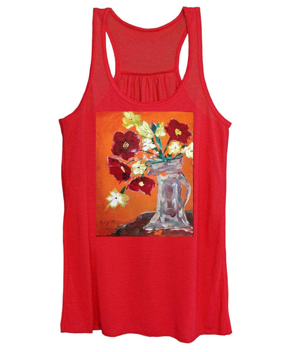 Poppies Paintings Women's Tank Tops