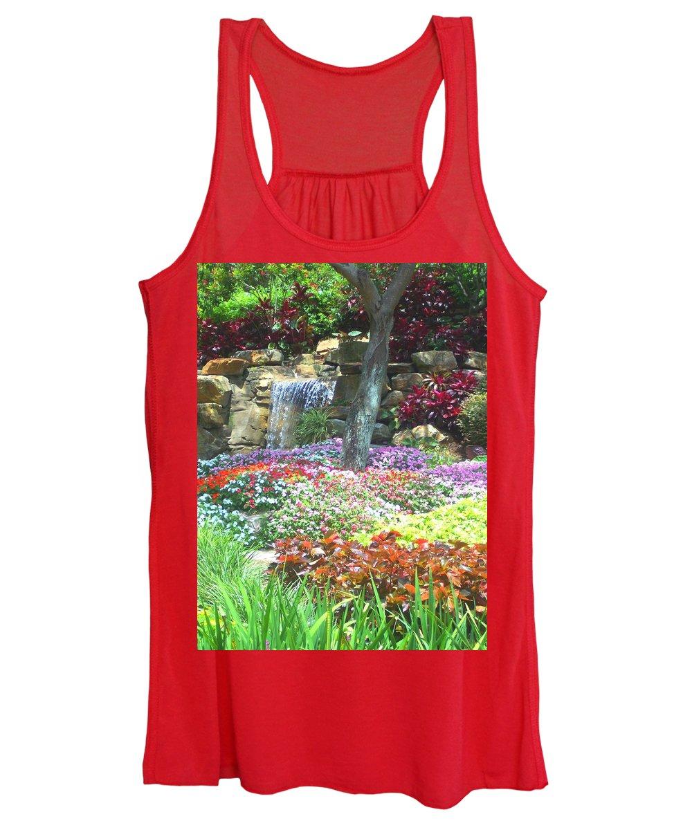 Garden Women's Tank Top featuring the photograph Floral Garden by Pharris Art