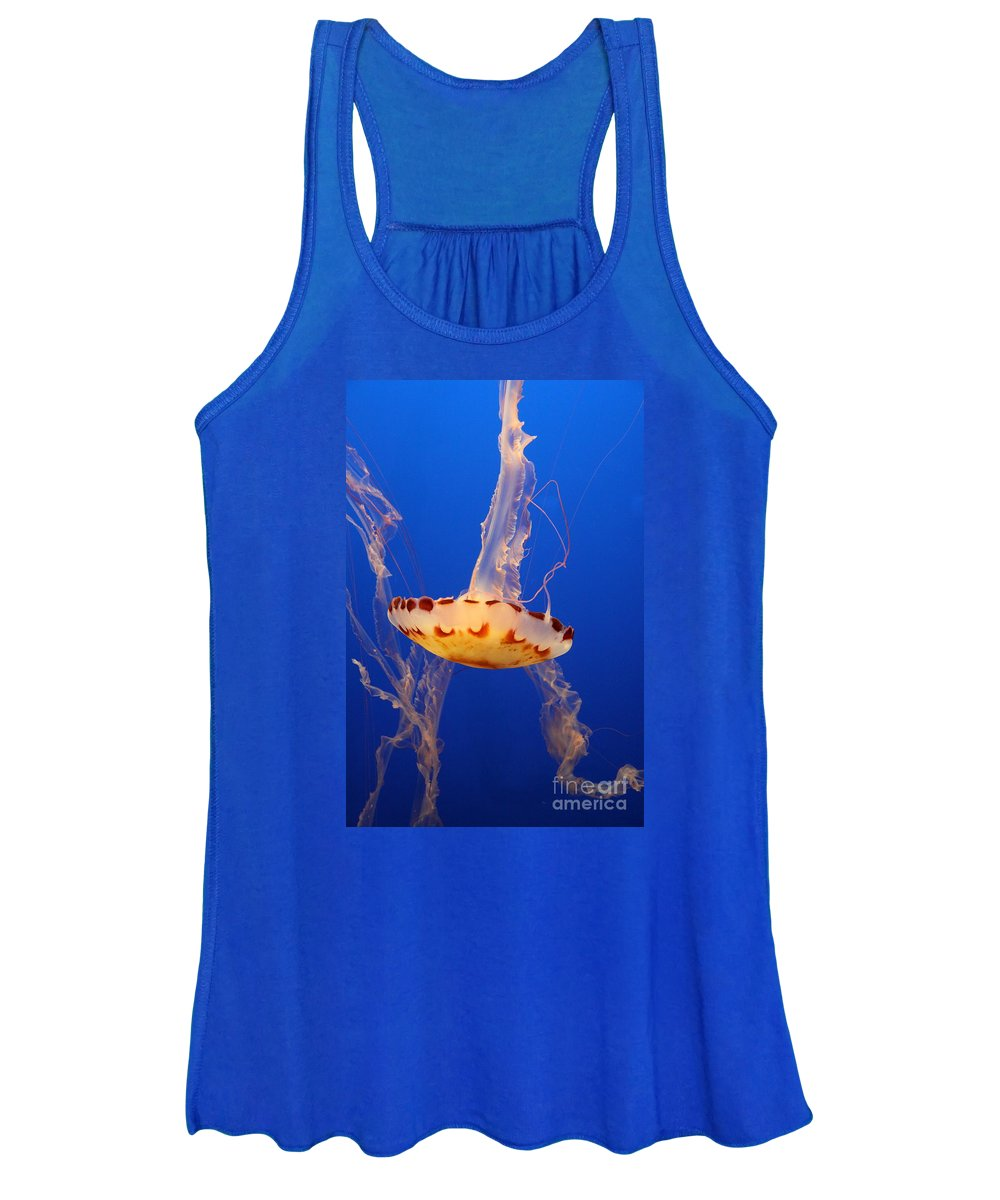 Medusa Jelly Women's Tank Top featuring the photograph Medusa Jelly by Christiane Schulze Art And Photography