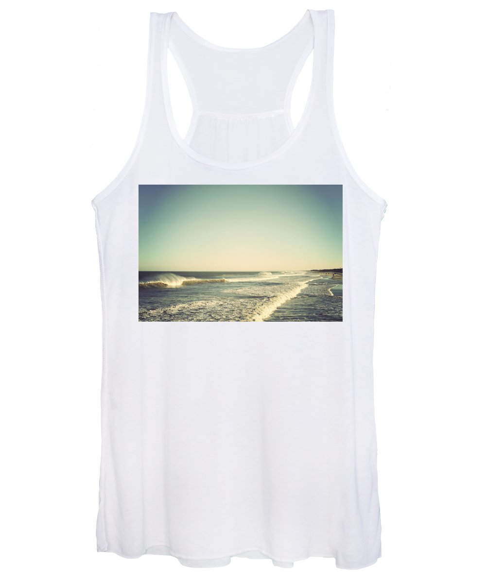 Terry Deluco Women's Tank Top featuring the photograph Down The Shore - Seaside Heights Jersey Shore Vintage by Terry DeLuco