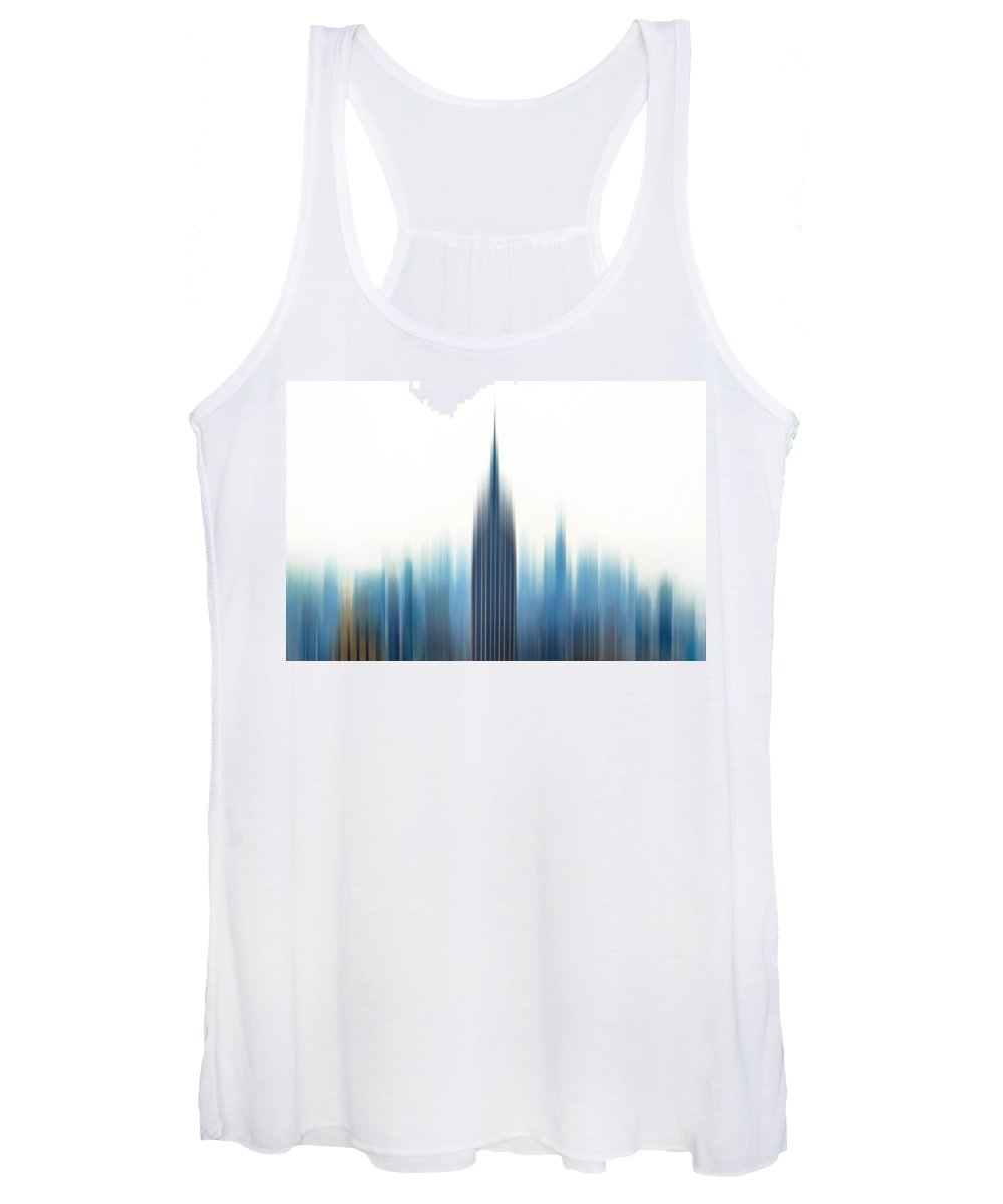 New York City Women's Tank Top featuring the photograph Moving An Empire by Az Jackson