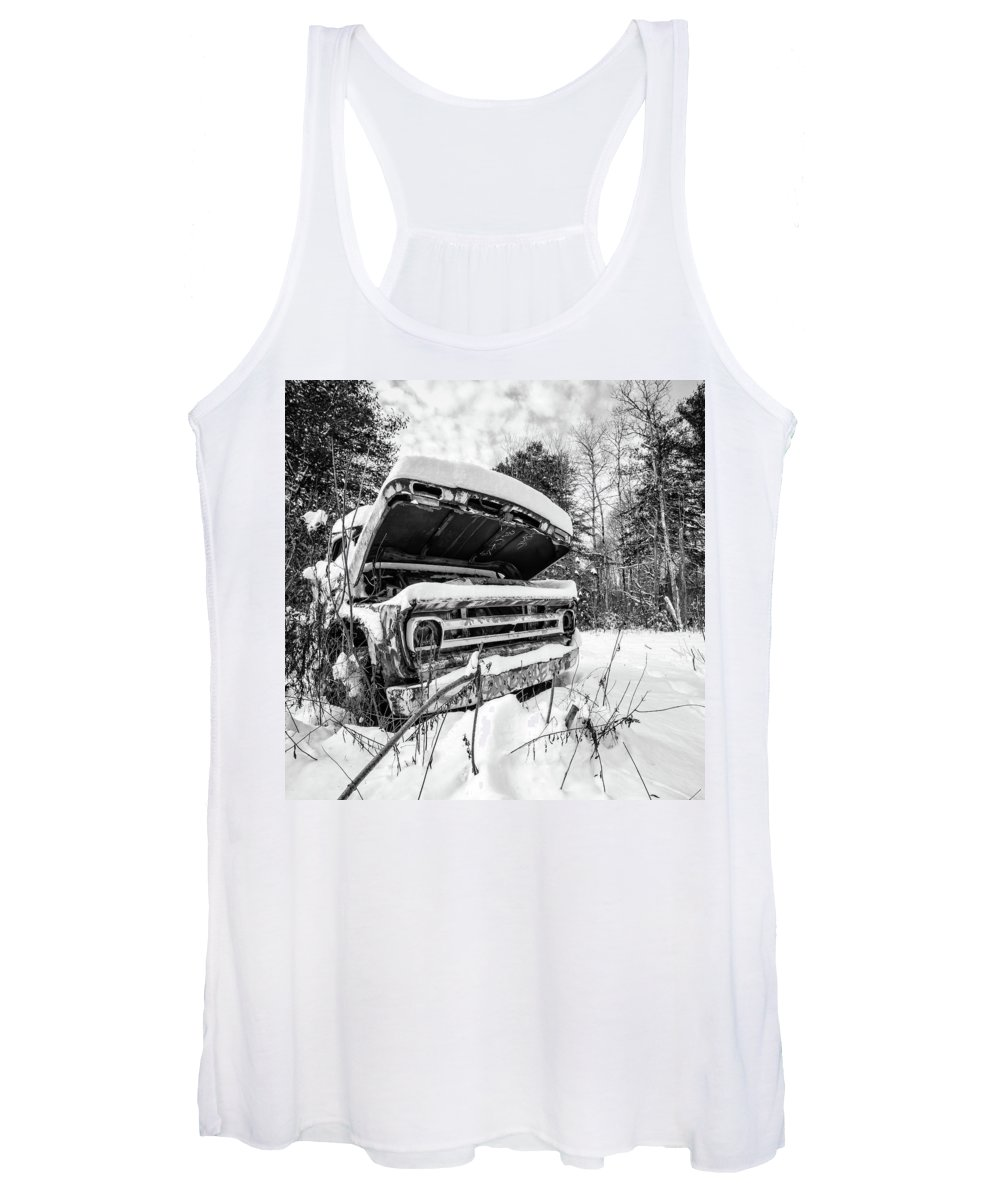 Vintage Truck Photographs Women's Tank Tops