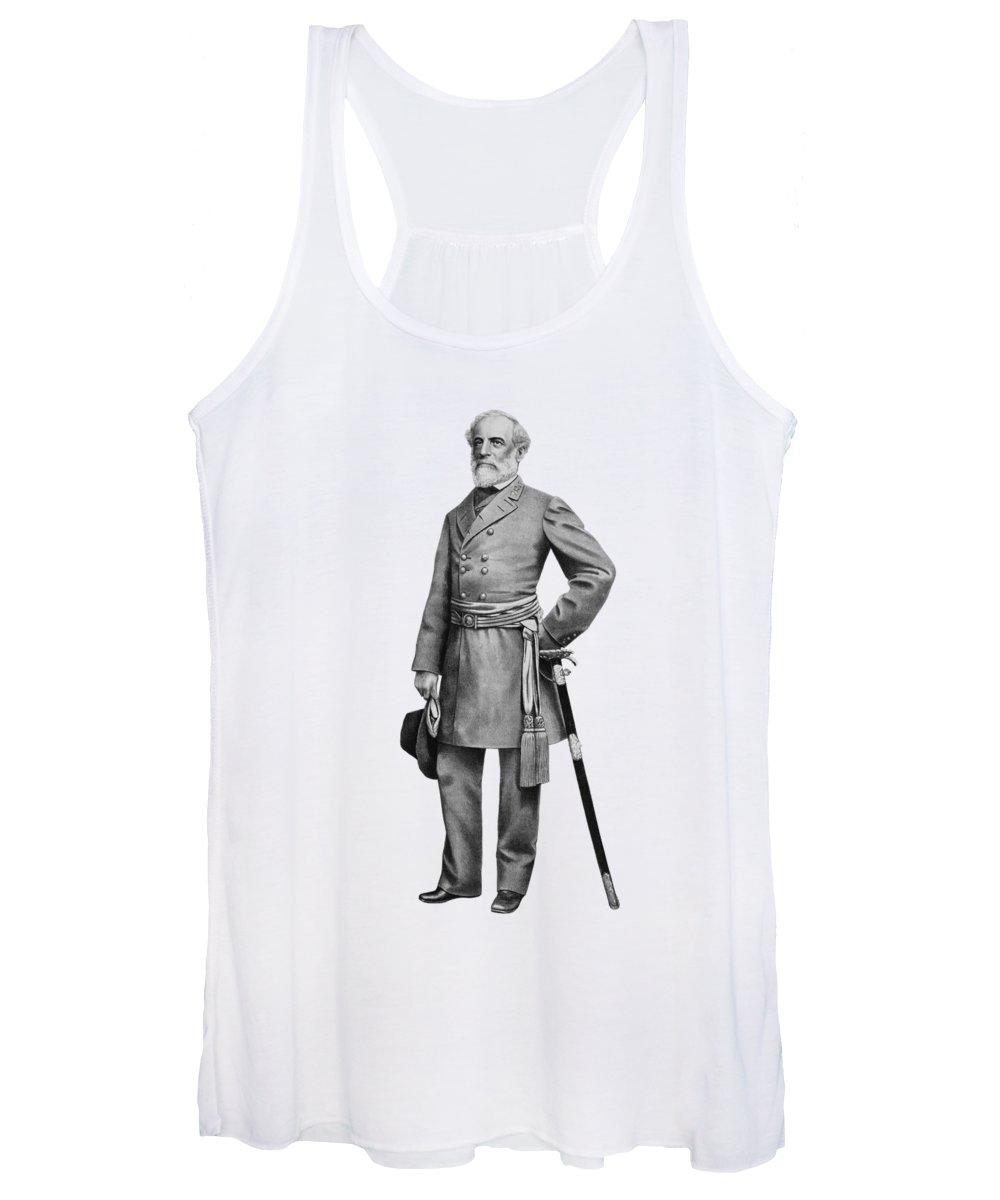 Robert E Lee Women's Tank Tops