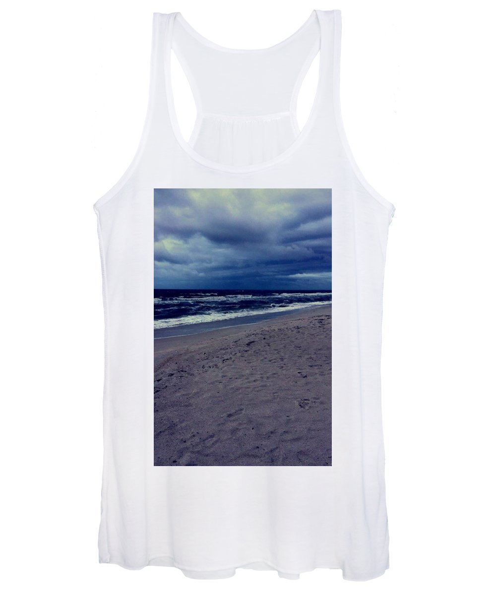 Women's Tank Top featuring the photograph Beach by Kristina Lebron