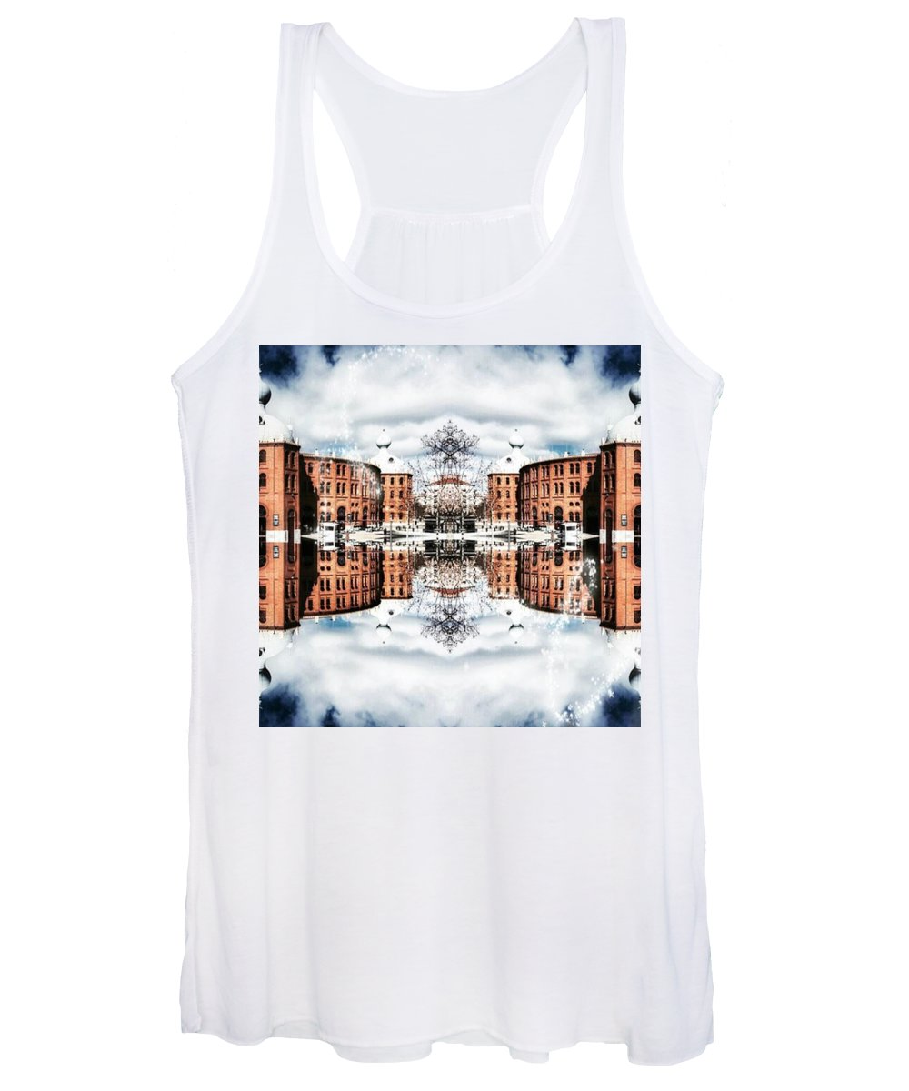 Inspire Women's Tank Top featuring the photograph Campo Pequeno by Jorge Ferreira