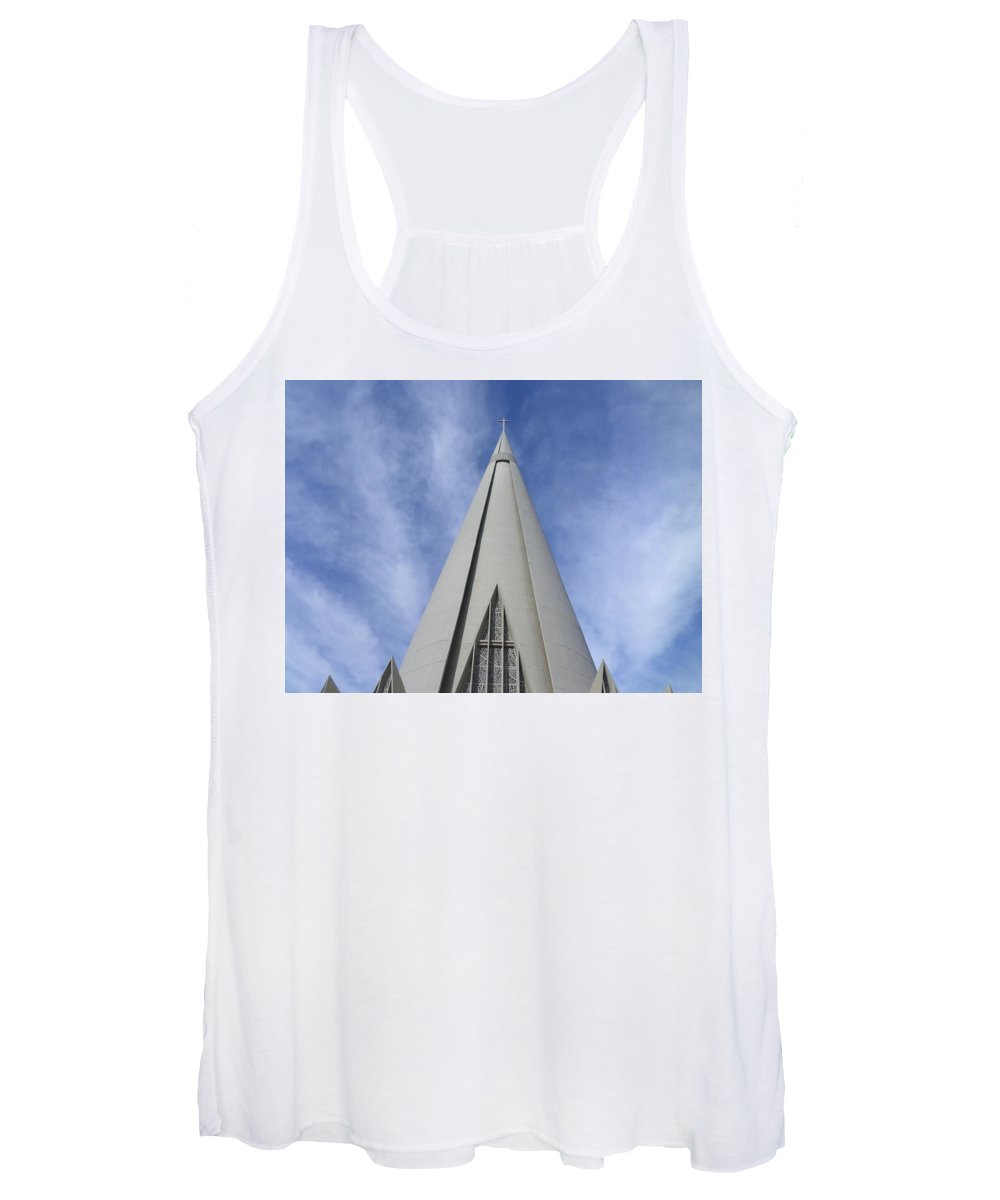 Cathedral Women's Tank Top featuring the photograph Cathedral Minor Basilica Our Lady of Glory by Bruna Lima