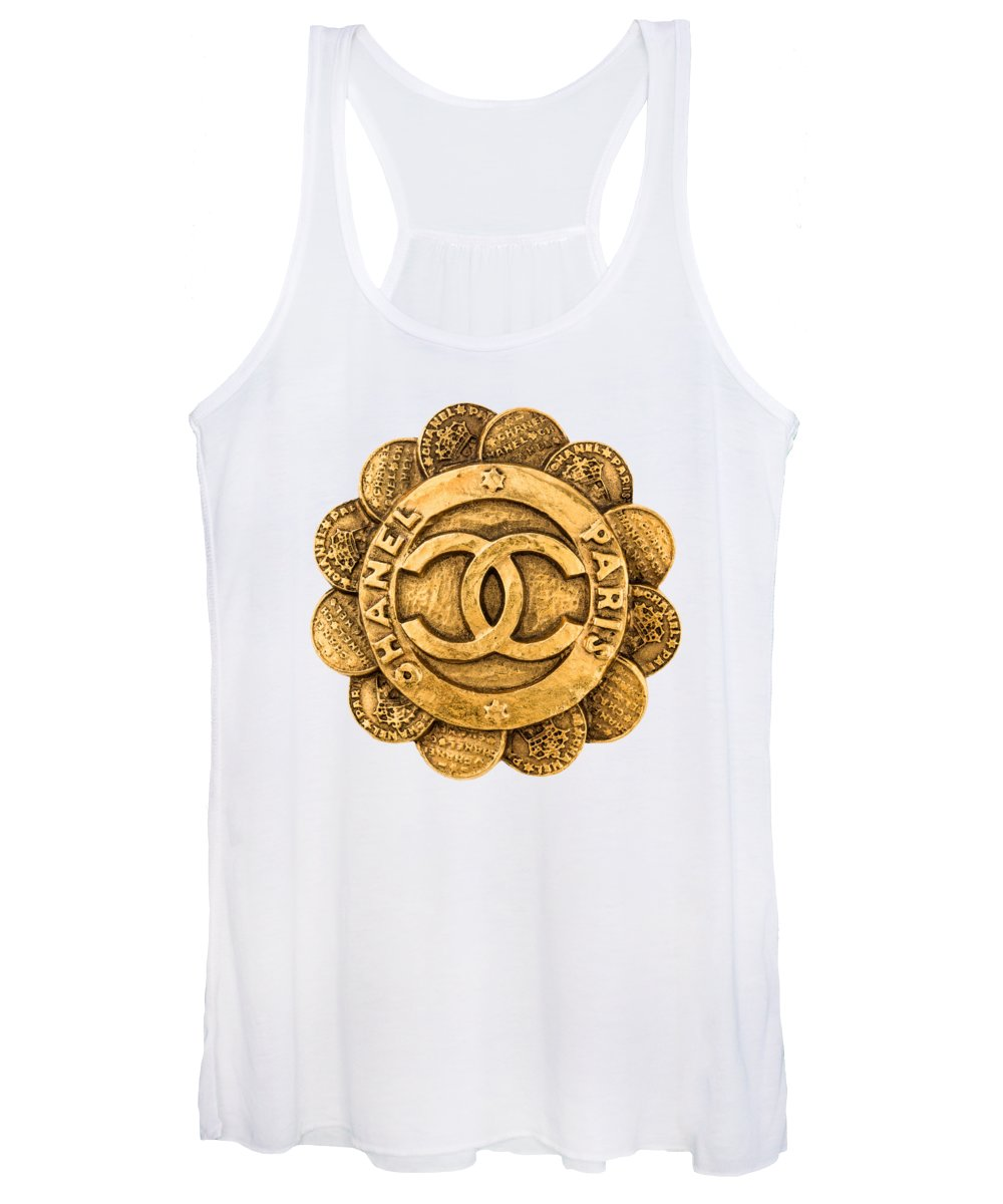 Chanel Women's Tank Top featuring the painting Chanel Jewelry-2 by Nikita