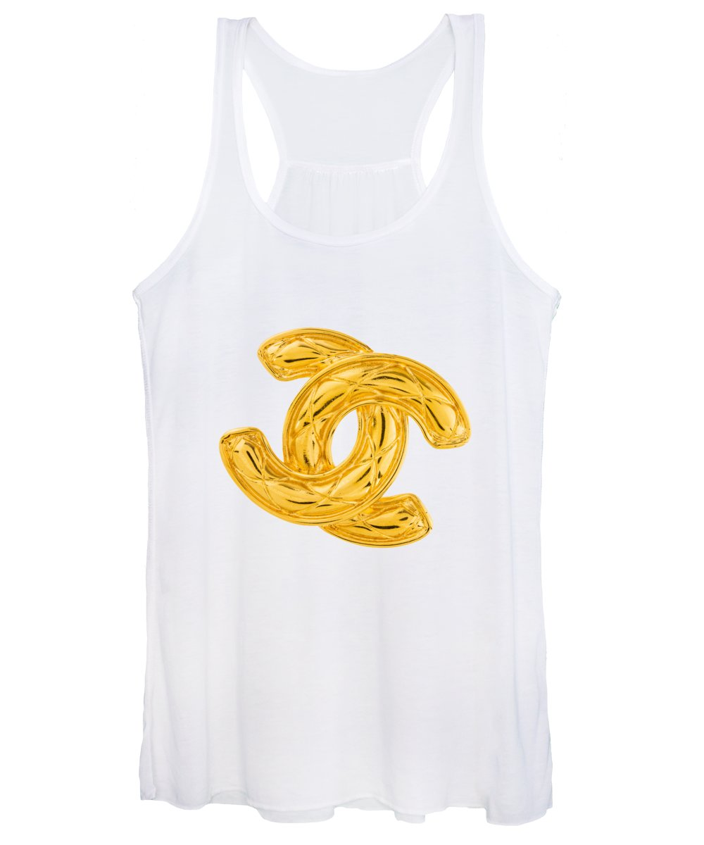 Chanel Women's Tank Top featuring the painting Chanel Jewelry-4 by Nikita