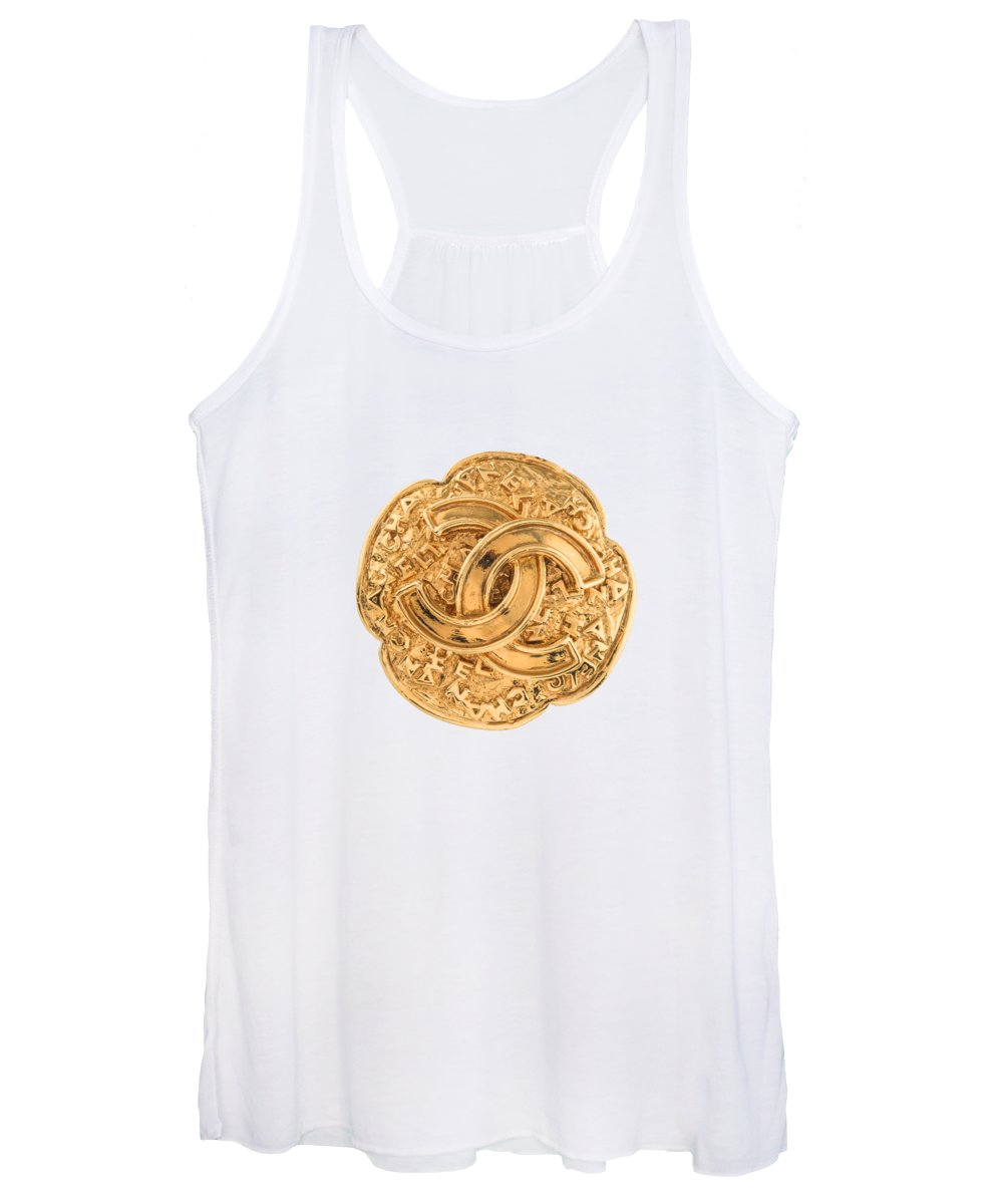 Chanel Women's Tank Top featuring the painting Chanel Jewelry-7 by Nikita