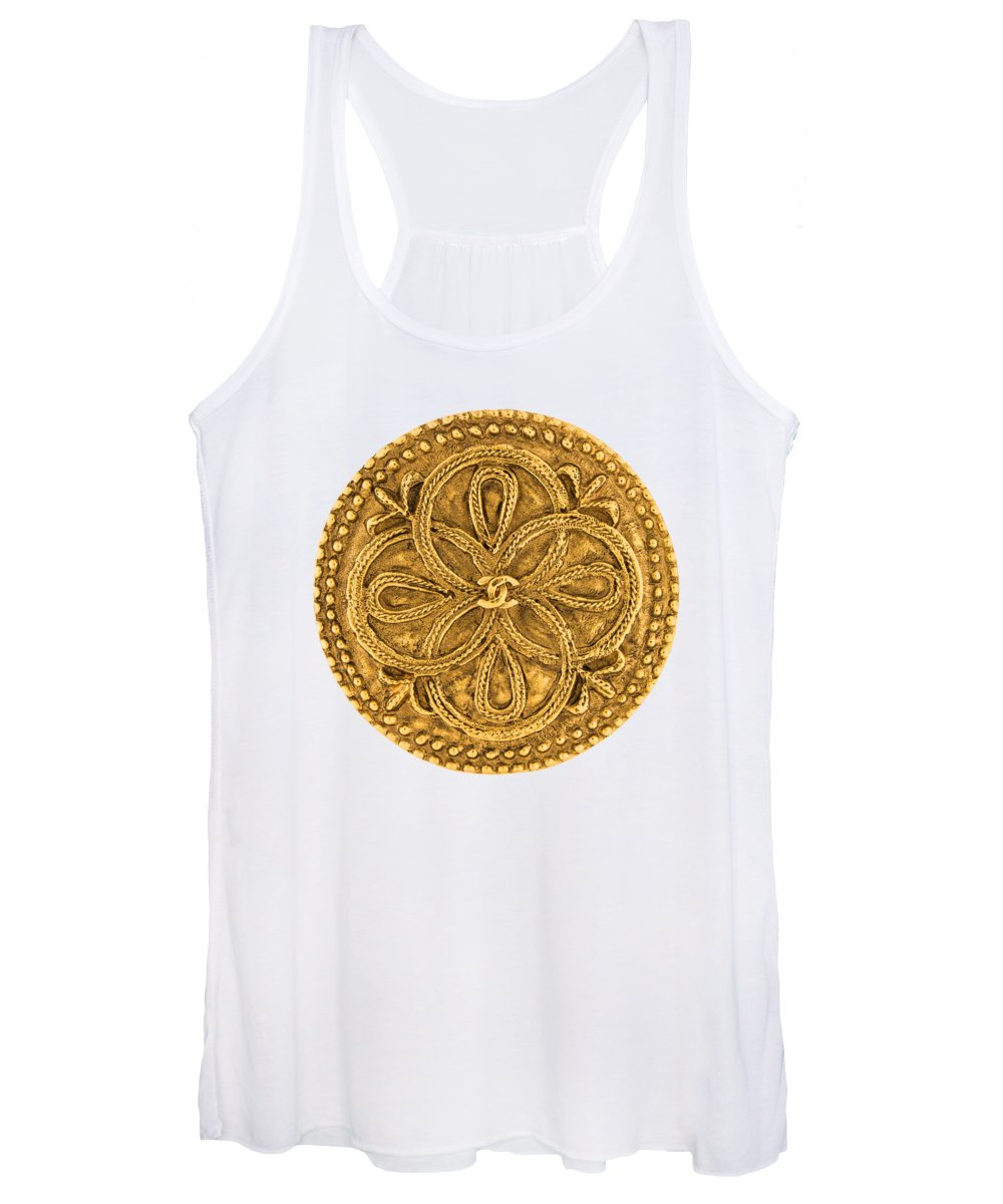 Chanel Women's Tank Top featuring the painting Chanel Jewelry-8 by Nikita