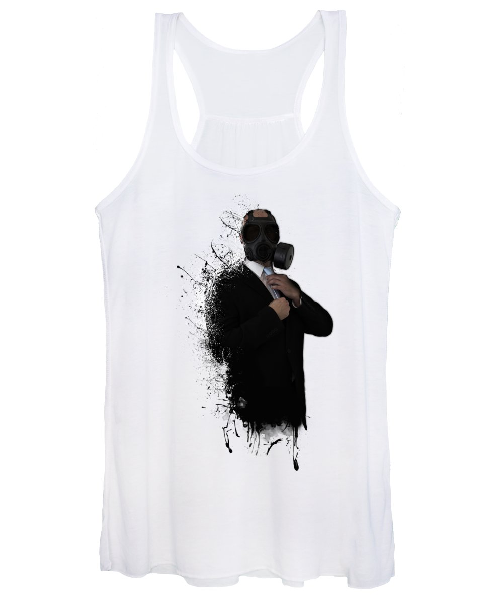 Gas Women's Tank Top featuring the photograph Dissolution Of Man by Nicklas Gustafsson