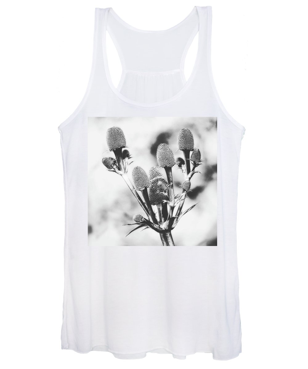 Beautiful Women's Tank Top featuring the photograph Eryngium #flower #flowers by John Edwards
