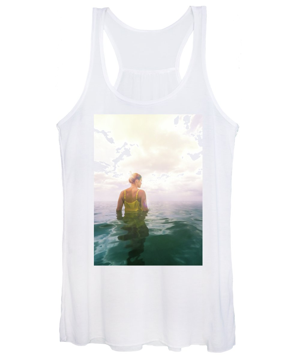 Seascapes Photographs Women's Tank Tops