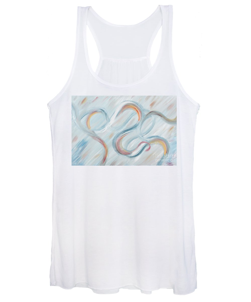 Peace Women's Tank Top featuring the painting Peace by Nadine Rippelmeyer