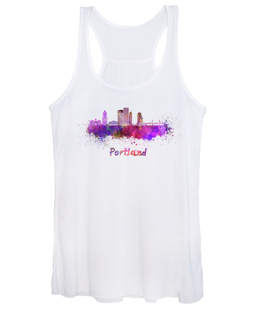 Portland Skyline Women's Tank Tops