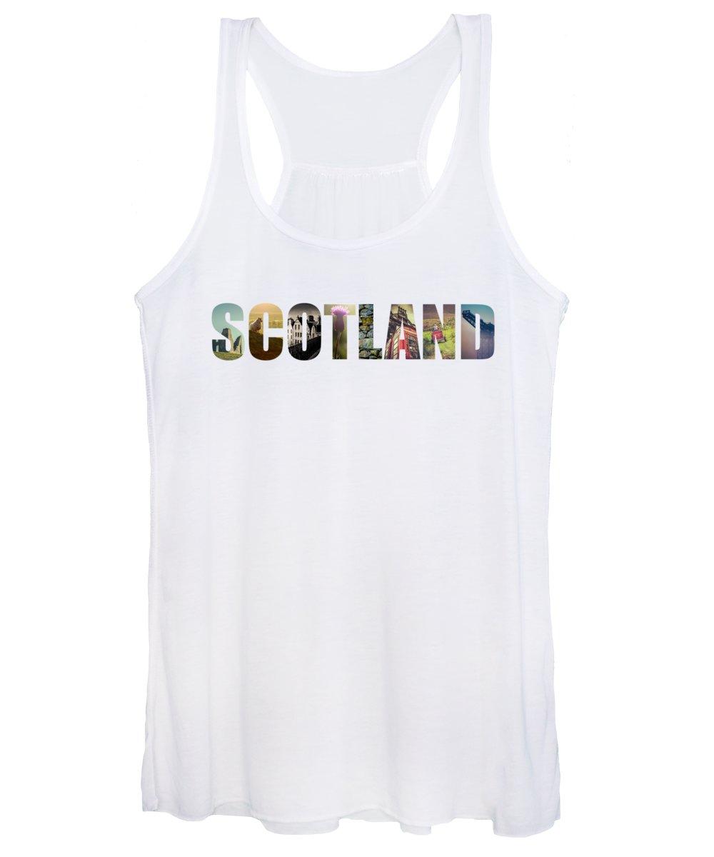 Scotland Landscape Women's Tank Tops