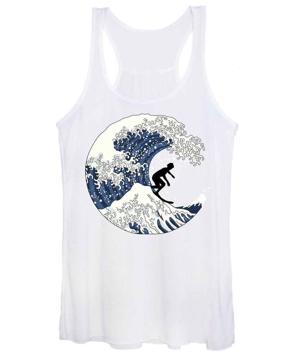 Hokusai Women's Tank Tops