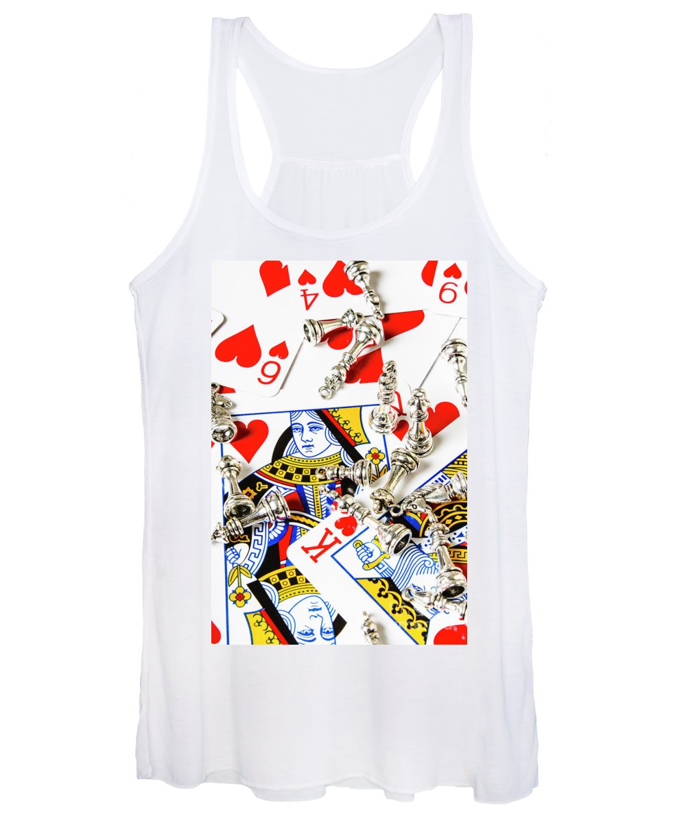 Casino Women's Tank Top featuring the photograph True Love Reigns Supreme by Jorgo Photography - Wall Art Gallery