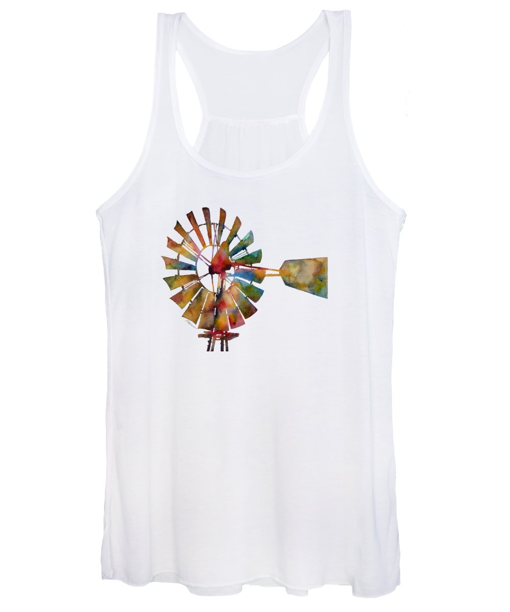 Wind Women's Tank Tops