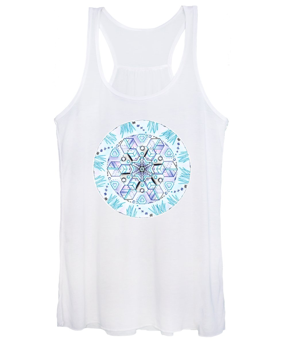 Organic Drawings Women's Tank Tops