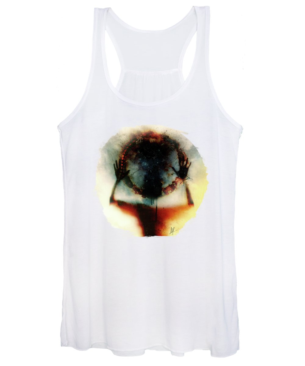 Thought Digital Art Women's Tank Tops