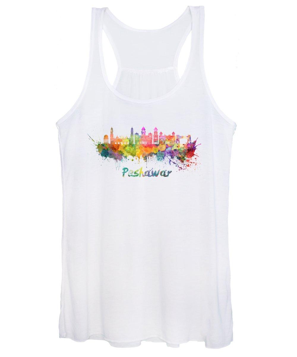Peshawar Paintings Women's Tank Tops