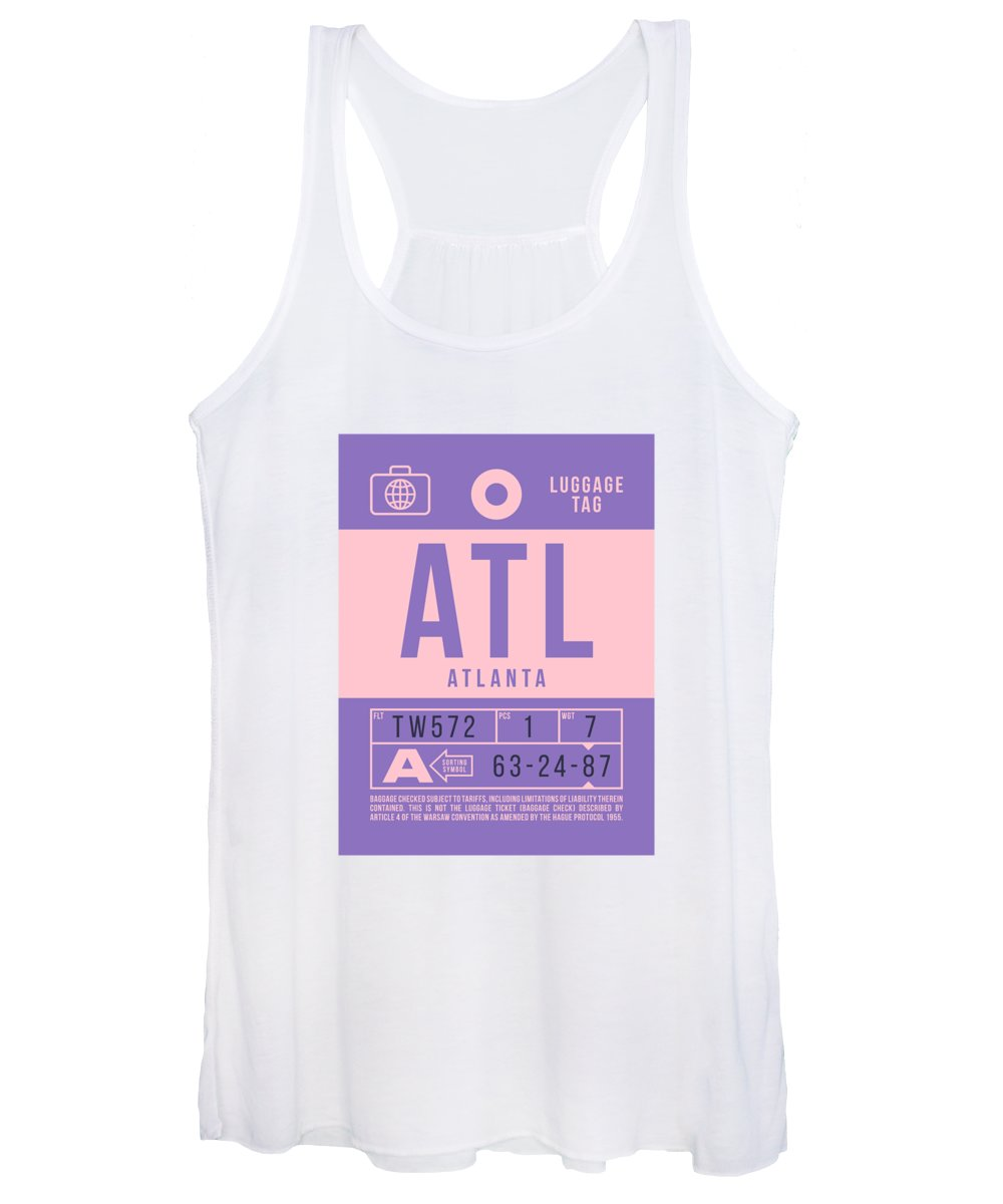 Atlanta Women's Tank Tops