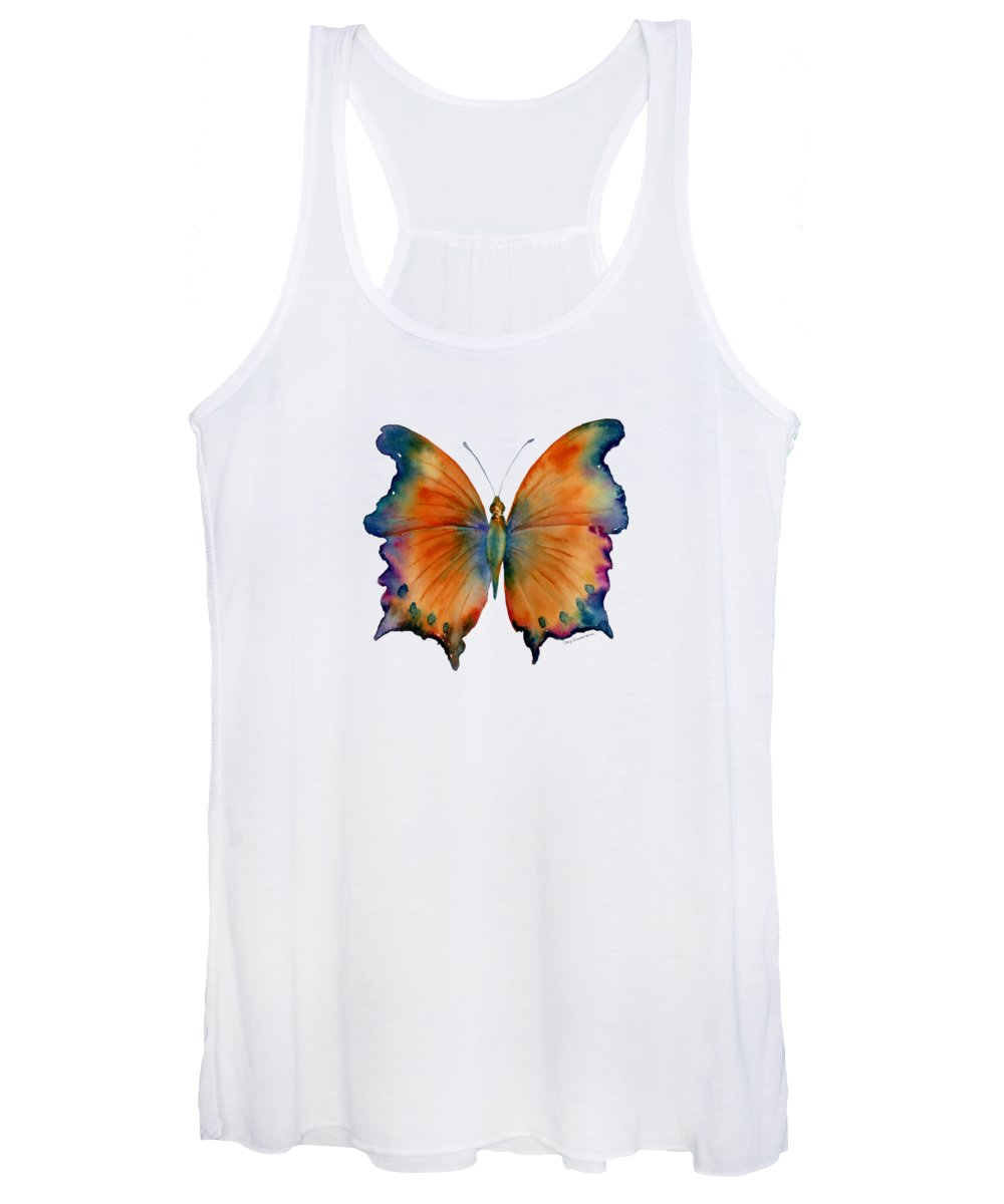 Wizard Butterfly Women's Tank Top featuring the painting 1 Wizard Butterfly by Amy Kirkpatrick