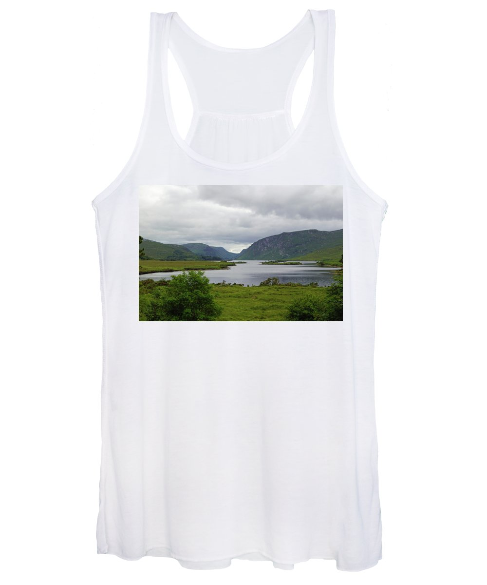 Mountain Women's Tank Top featuring the photograph Glenveagh National Park by Babett Paul