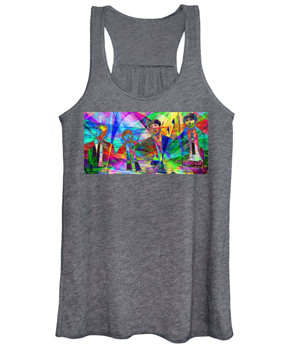 Wingsdomain Women's Tank Top featuring the photograph Strawberry Fields Forever 20130615 by Wingsdomain Art and Photography
