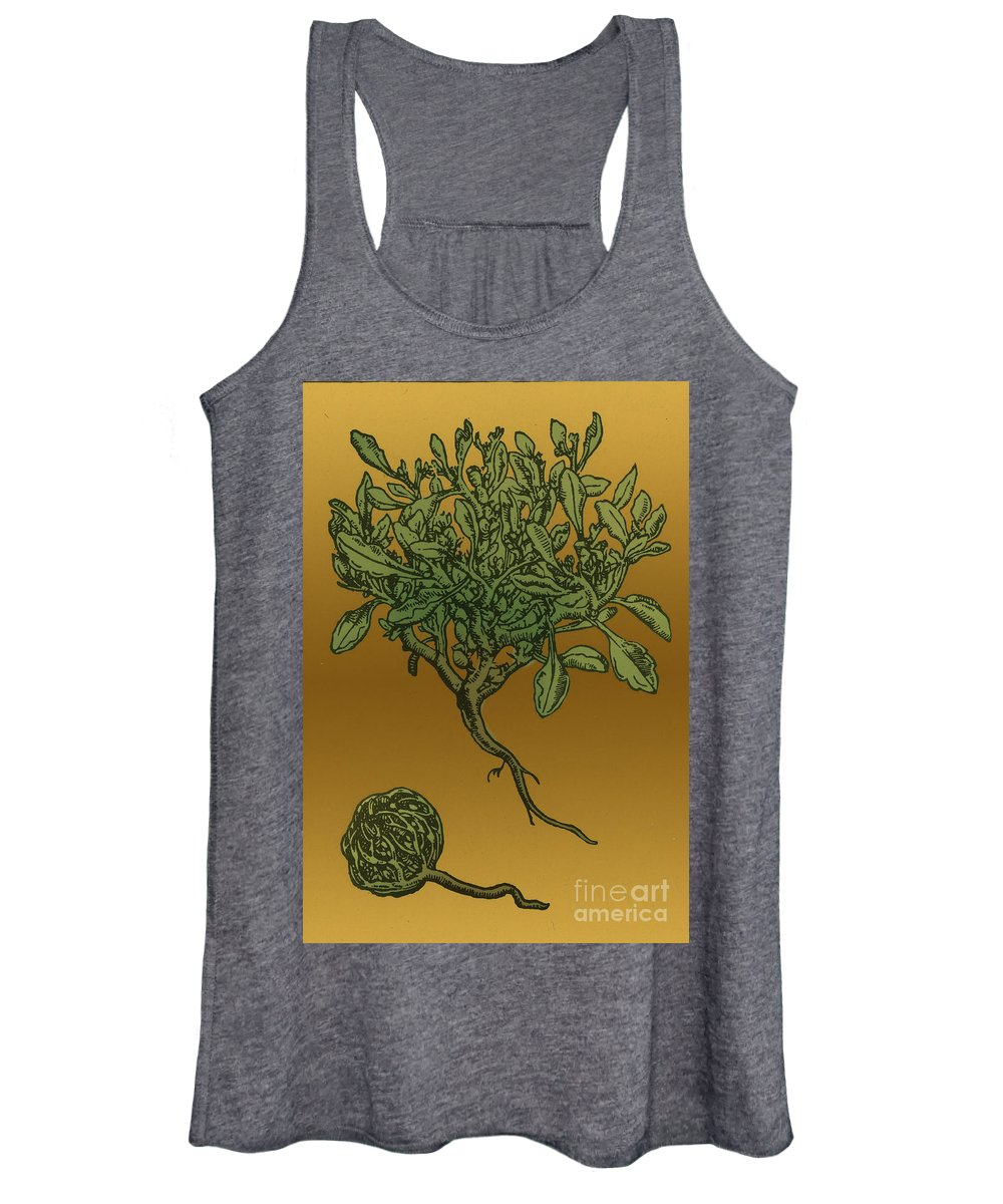 Science Women's Tank Top featuring the photograph Anastatica Hierochuntica, Resurrection by Science Source